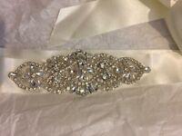 Ivory Diamond Wedding Belt Brand New