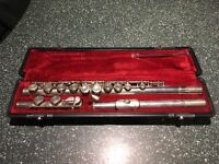 Yamaha 211s silver-plated flute