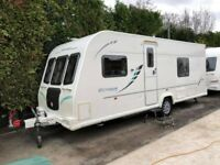 2011 Bailey Olympus 534 4 Berth caravan FIXED BED, Awning VGC Bargain !!!