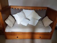 Second hand Mothercare Harrogate Cot Bed - Heritage