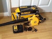 Dewalt DV100 compact 18v workshop/garden blower