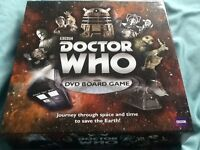 Dr Who DVD Board Game - used but in excellent condition