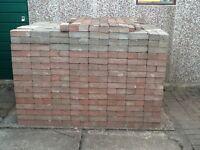 Lock block paving (32 sq metres)