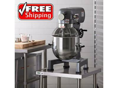 20 Qt. Countertop Commercial Electric Planetary Stand Mixer With Guard - 110v