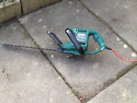 Qualcast HedgeMaster 430 electric hedge trimmer.