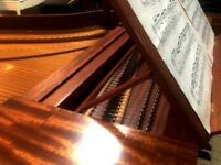 Harpsichord for sale 4-pedal THE PIANO PAVILION