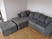 SALE ON BRAND NEW DYLAN JUMBO CORD CORNER AND 3+2 SEATER SOFA SET