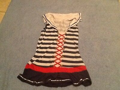 Sexy Sailor Girl Halloween Costume Lingerie Dressup Sz Large Never - Naked Halloween Costume