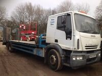 Iveco Eurocargo 18t beavertail and sleepercab