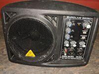 Behringer Eurolive B205D ; Active Powered Monitor Speaker Cabinet 150w