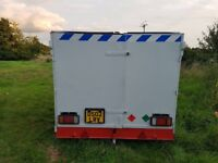 box trailer motorcycle trailer mobile workshop