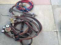 Welding torch / pipes