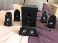 LOGITECH Z506 5.1 Speakers - 75W Speaker, 27W Subwoofer - Black