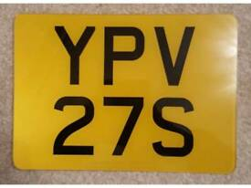 Yamaha RD 125/ RD 250/ RD 350/ RD 500 LC YPVS Private number plate