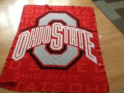 Ohio State Locker Room  Red Blanket Comforter Locker Room Collection Comforter