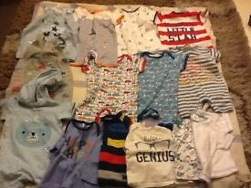 Large job lot clothes up to 3/6 months plz look at further pics