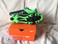 Adult Nike football boots size 8