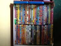 Assorted children's DVD's