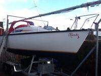 25 foot yacht