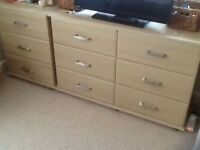 Complete bedroom furniture set as new. Originally cost £1500