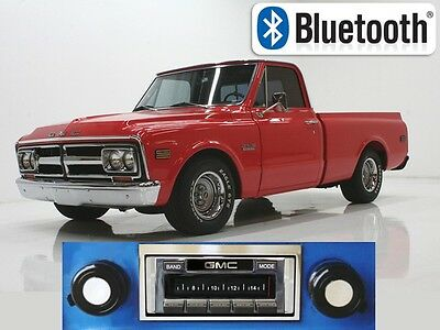67-72 GMC Pickup Truck AM FM Bluetooth New Stereo Radio iPod USB Aux 300 watt