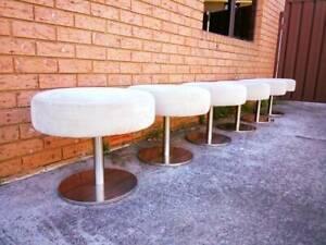 Designer Zanzibar Dining Stools x 6  (Includes delivery)  Newcastle Newcastle Area Preview
