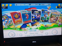 Nintendo Wii with 251 Games on Hard Drive - No more lost/scratched/snapped Discs! So easy to use!