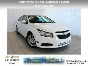 2012 Chevrolet Cruze eco TURBO, ECO, AUTO, MAGS,