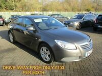 NOV 2011 VAUXHALL INSIGNIA 2.0 CDTI ES 130BHP LONG MOT FULL HISTORY FINANCE AVAILABLE ONLY £30 TAX