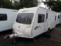 Bailey Pageant Bordeaux 4 berth caravan 2008 FIXED BED, MOTOR MOVER, Bargain !