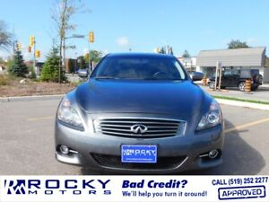 2012 Infiniti G37X - BAD CREDIT APPROVALS