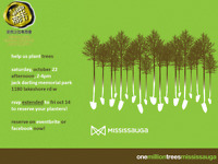 Help us Plant Trees in Mississauga for One Million Trees!