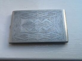 Antique cigarette case