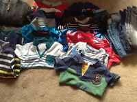 Bundle of boys clothes. Age 4-5. Great condition