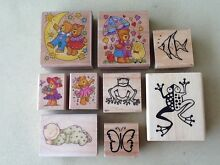 Craft rubber stamps Kinross Joondalup Area Preview