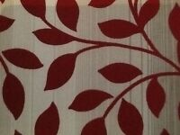 5 Roman blinds for sale, 3 for large square bay window and 2 side windows