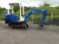 D A Minie Digger and Small Plant Hire