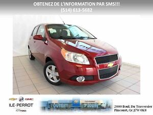 2011 CHEVROLET Aveo 5 LS, HATCH, MP3, CLIMATISATION West Island Greater Montréal image 1
