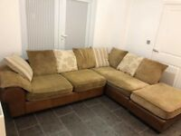 Large corner sofa/couch for sale