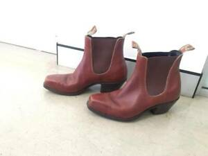 Red RM William boots