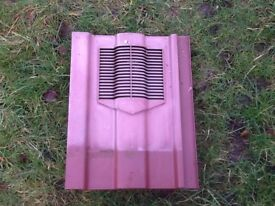 Air vent roof tiles for Marley Ludlow Major roof tiles