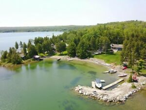 Manitoulin Island Beachfront Cottage Rentals