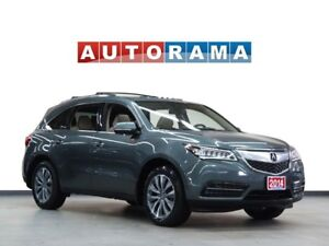 2014 Acura MDX BACKUP CAM NAVIGATION LEATHER SUNROOF 7 PASS 4WD