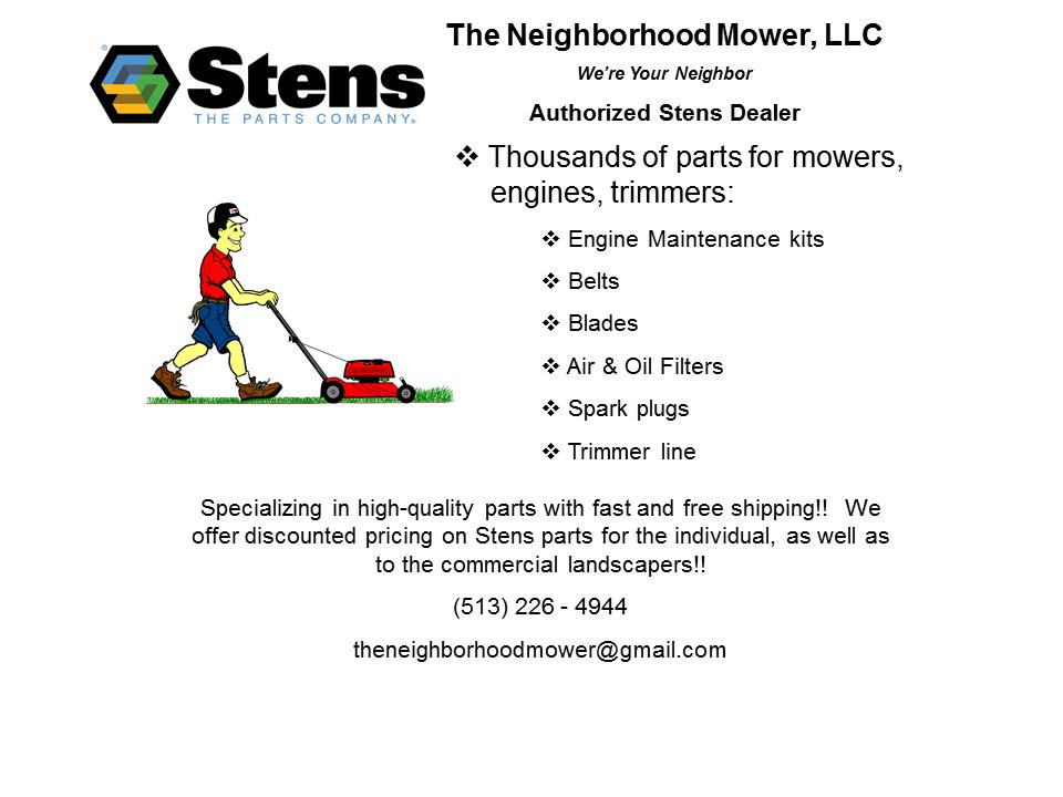 The Neighborhood Mower Parts Store