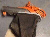 Flymo leaf blower/pick up