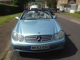 Mercedes Clk320 convertible Mint condition