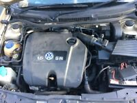 VOLKSWAGEN GOLF MK4 1.6 AUTOMATIC ENGINE PARTS FOR SALE