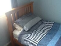 Single Bed for Sale with mattress and bedding