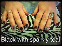 Eyebrow shape and tint, gel nails, spray tans etc