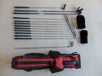 Dunlop Reaction Oversize Golf Clubs (including bag)